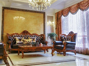 歐式別墅 古典豪華中的舒適情懷