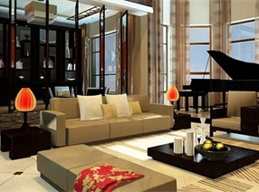 林泽宇作品:静馨墅豪宅设计