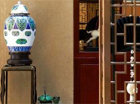 中式设计案例:桂花洲空中叠院
