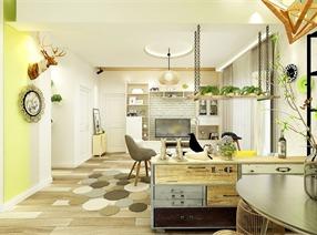 北欧风格客厅设计