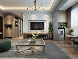 (观饰界室内设计定制机构)海珀兰轩北欧风格设计