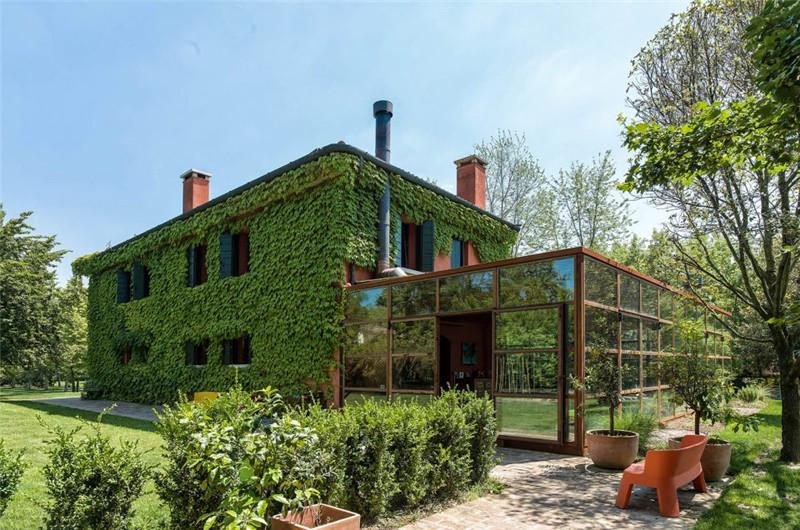 意大利乡间小屋,与自然融为一体