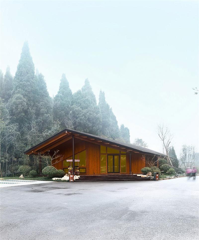 宜昌三峡房车营地:高低错落,隐于林野山间
