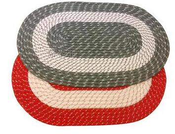 毛线编织地垫方法|旧毛线编织地毯- 设计圈