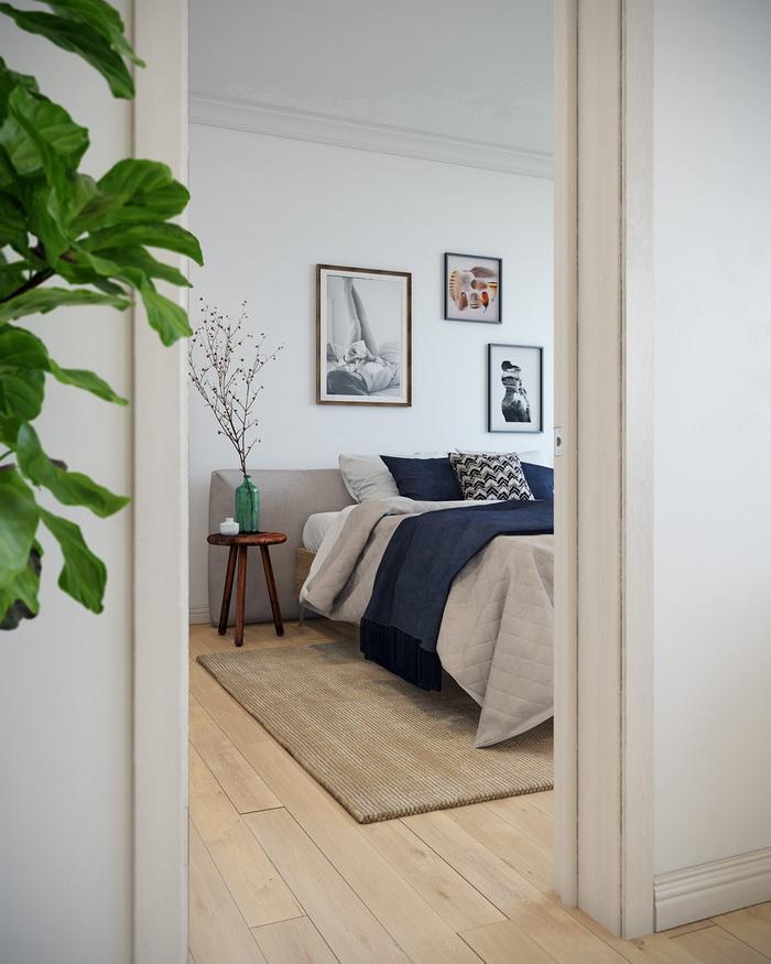 Scandinavian style apartment (8)