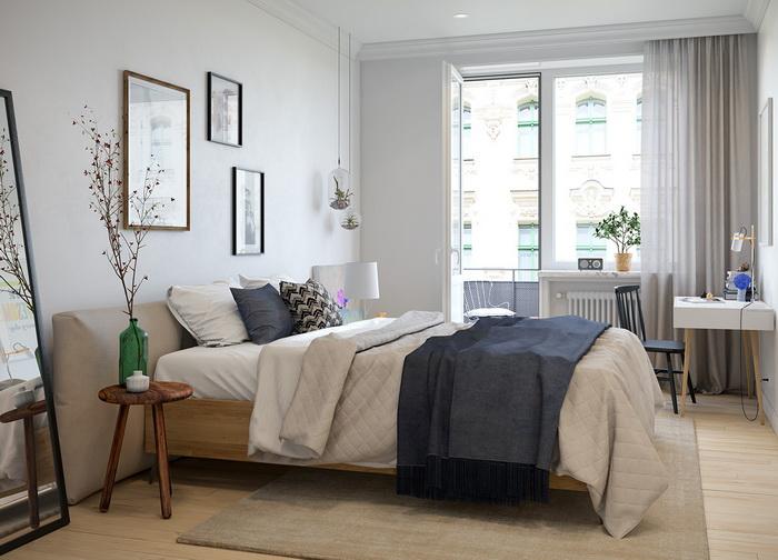 Scandinavian style apartment (9)