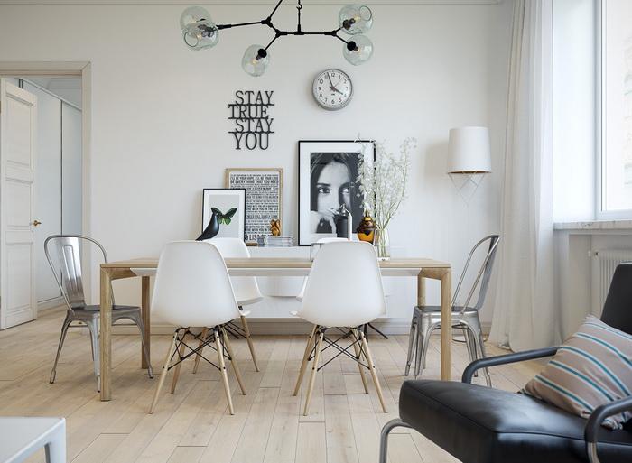 Scandinavian style apartment (4)