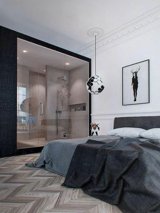 主卧究竟应该带卫生间好还是衣帽间好?|卧室设计