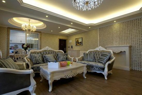 最新欧式装修风格样板房 欧式装修风格样板房推荐图片