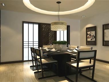 居室在色彩方面秉承了传统古典风格的典雅和华贵,但与