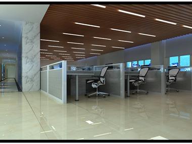 因此为担保公司的设计,大厅重要部分我们采用波导大理