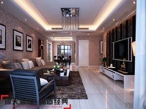 本案是比较典型的简欧风格的设计,整个空间比较随意和