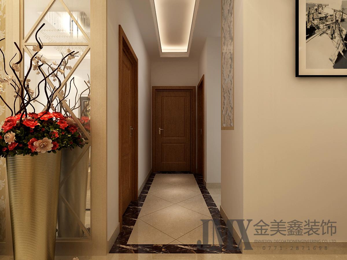 宏瑞江山0平米三居室装修效果图_邓华设计作品-设计圈
