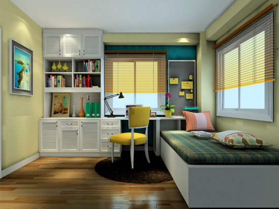 小卧室榻榻米设计 卧室榻榻米装修效果图