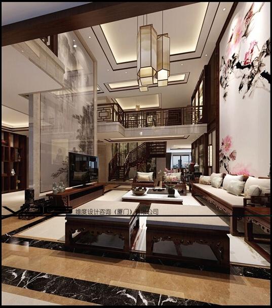 王宅楼中楼中式|复式|0m 郑凌 厦门市丨 面议专注于家庭专业住宅设计