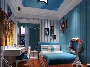 整体风格为现代简欧,多用实木线条来装订层次感,颜色