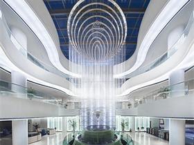 中国古海旅游度假酒店酒店空间吊顶