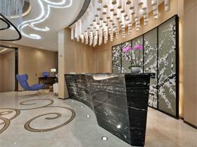 花样年 • 上海嘉年CEO服务式公寓酒店空间背景墙