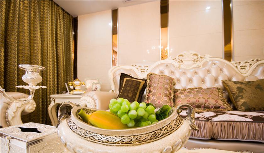 海尚一品公寓住宅设计客厅