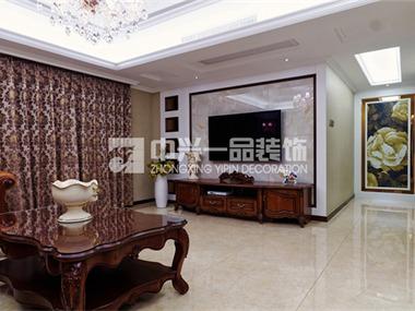 加州洋房美式设计客厅