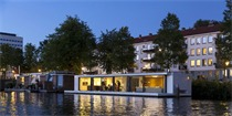 随波浮沉的阿姆斯特丹水上漂浮别墅