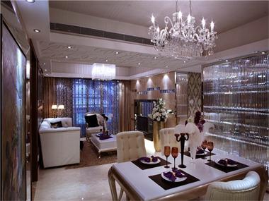 63平欧式风格装修效果图餐厅