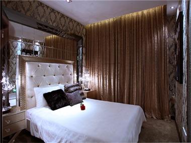 63平欧式风格装修效果图卧室