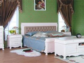 纯洁淡雅的白色家具为你带来绝妙的安逸空间