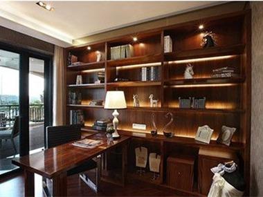 记忆•米兰样板房设计书房