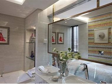 记忆•米兰样板房设计卫生间