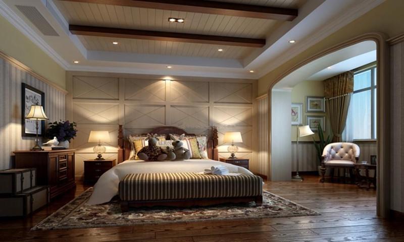 融科橡树澜湾卧室