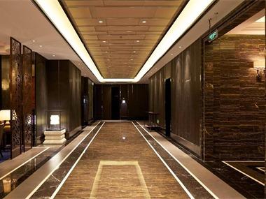酒楼走廊实景图