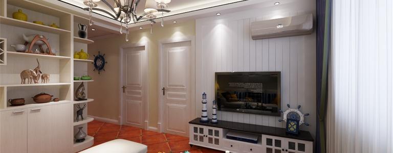 简美风情_观锦两居室80平米二居室装修效果图_王燕