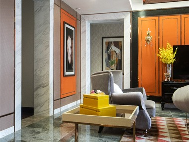 現代客廳其它實景圖