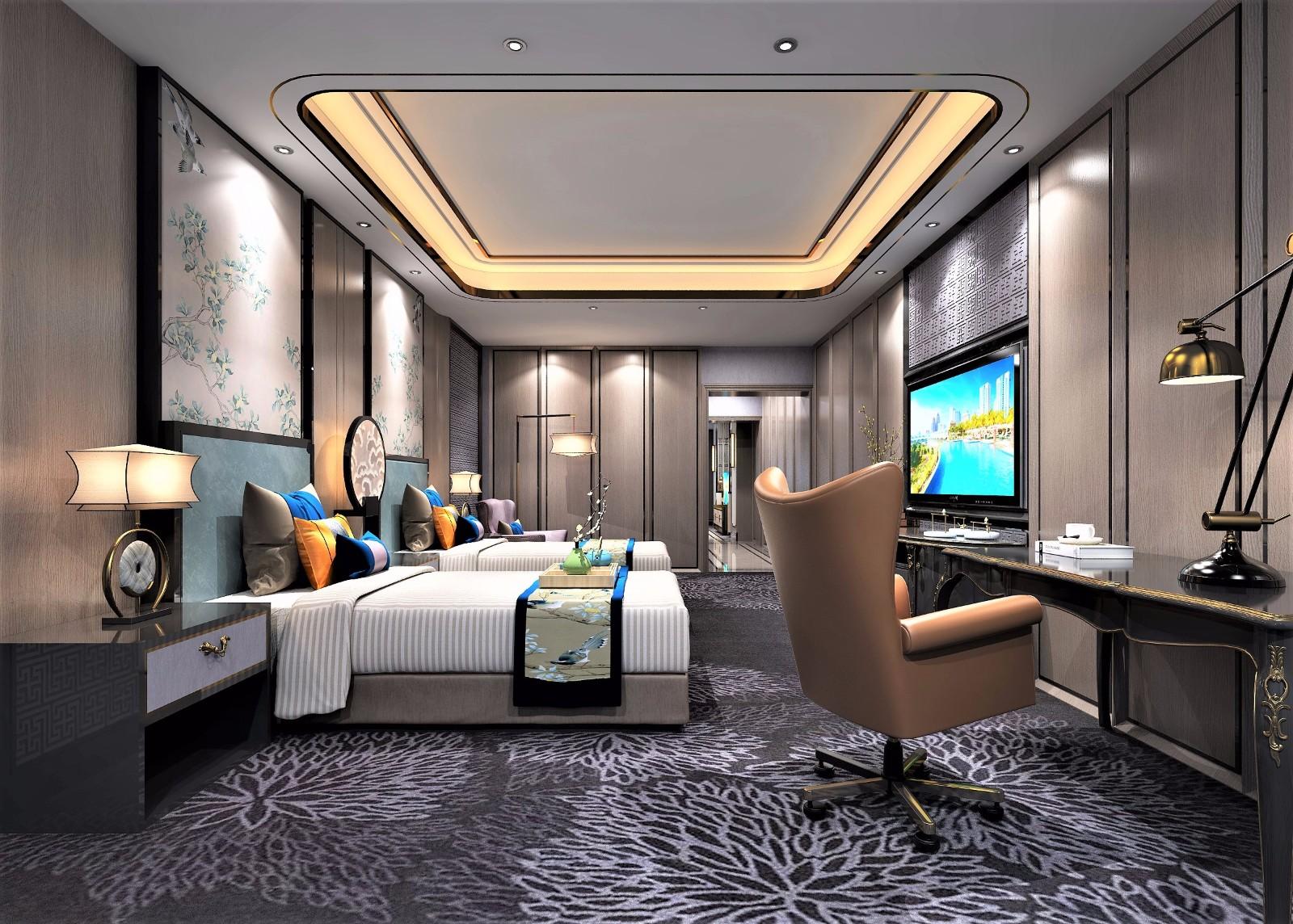 高尔夫酒店中式套房