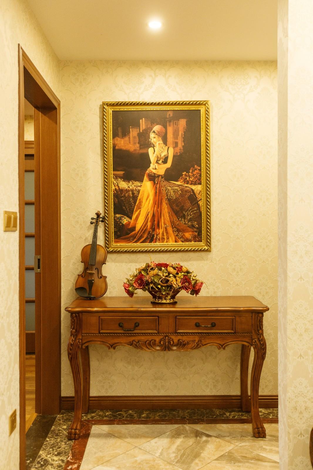新古典其它背景墙实景图