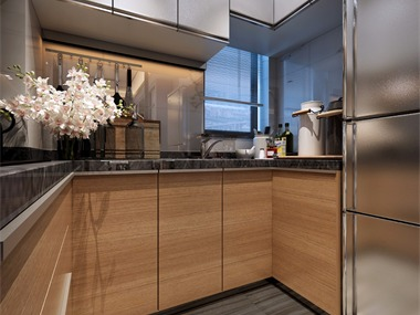 中式厨房吊顶效果图