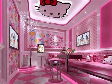 友乐迪KTV室内空间设计