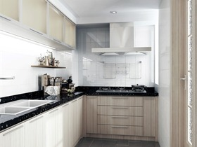 混搭厨房背景墙效果图