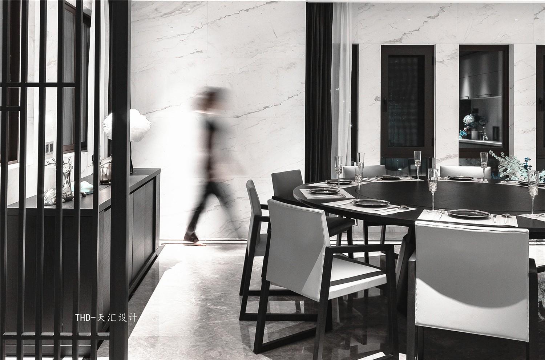 现代餐厅其它实景图