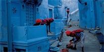 蓝色城市久德普,据说这里是最接近神的城市