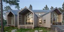 瑞士湖岛住宅设计 被树丛湖泊环绕的居所