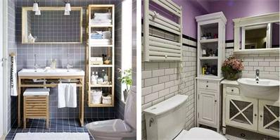 卫生间装修 卫生间这么一装收纳空间都大一倍