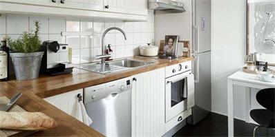 厨房也要有格调 12个宜家风格小面积厨房案例推荐