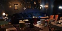 这家酒吧奢华且神秘 只有预约的客人才能获得酒吧的位置及密码