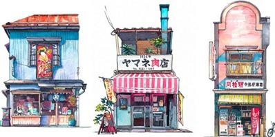 《你的名字》画家用笔规划出了一条新的东京行程