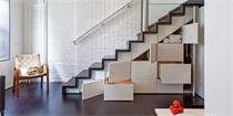 复式楼梯空间这么利用 书房收纳房统统可以省掉
