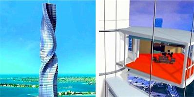 迪拜计划打造360度旋转酒店 游客可随意转动楼层