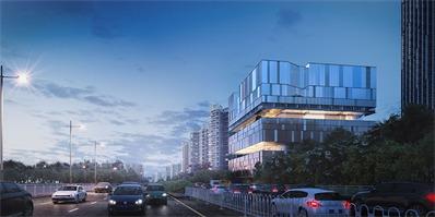 mecanoo工作室为深圳文化综合体所作的方案,以一个引人注目的室内中庭为特色