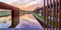 河北衡水格雷服装产业园区景观设计